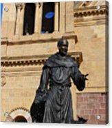 Catholic Cathedral Sante Fe Nm Acrylic Print