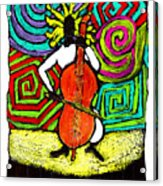 Cello Soloist Acrylic Print