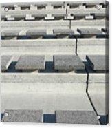 Cement Seats Acrylic Print