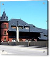 Central New Jersey Railroad Station Acrylic Print