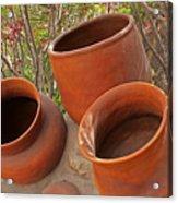 Ceramic Pots Acrylic Print