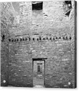 Chaco Canyon Doorways 4 Acrylic Print