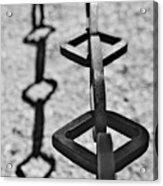 Chained Shadows Acrylic Print