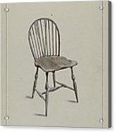 Chair Acrylic Print