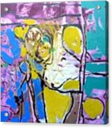 Monkey - Challenge 2017 Find A Cure - Mental Illness  Www.gracedivine.com Acrylic Print