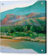Chama River Acrylic Print by Cap Pannell