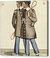Chang And Eng, Siamese Twins Acrylic Print
