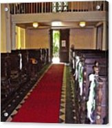 Chapel  Acrylic Print