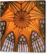 Chapter House York Minster Acrylic Print