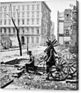 Charleston Ruins, 1865 Acrylic Print