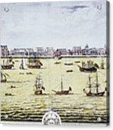 Charleston, S.c., 1739 Acrylic Print
