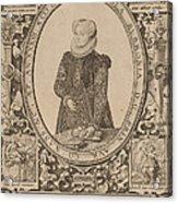Charlotte Of Bourbon Acrylic Print