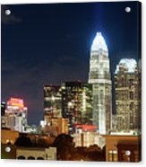 Charlotte Skylilne At Night Acrylic Print