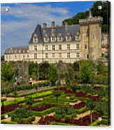 Chateau De Villandry Acrylic Print