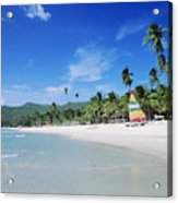 Chaweng Beach Acrylic Print