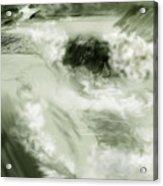 Cherry Creek White Water Acrylic Print by Anne Norskog