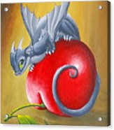 Cherry Dragon Acrylic Print