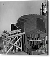 Chicago Pile-1, Scale Model Acrylic Print