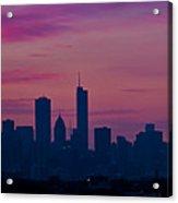 Chicago Sunrise Acrylic Print