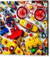 Childhood Toys Acrylic Print