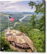 Chimney Rock State Park Acrylic Print