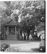 Chinese Garden Acrylic Print