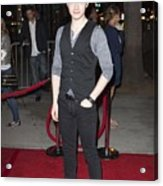 Chris Colfer At Arrivals For American Acrylic Print