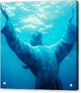 Christ At Sea Acrylic Print