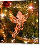 Christmas Angel Acrylic Print