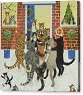 Christmas Carols Acrylic Print