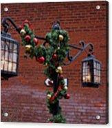 Christmas Lamps Acrylic Print