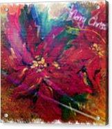 Christmas Star Acrylic Print