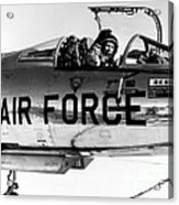 Chuck Yeager, Usaf Officer And Test Acrylic Print