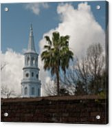 Church Bells Ringing Acrylic Print