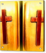 Church Doors Acrylic Print