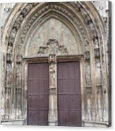 Church Entrance Acrylic Print