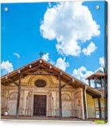Church In San Javier, Bolivia Acrylic Print