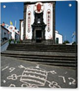 Church In The Azores Acrylic Print