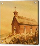 Church Manhattan Nevada Acrylic Print