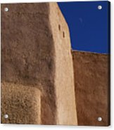 Church Taos Nm Acrylic Print