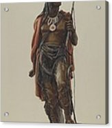 Cigar Store Indian Acrylic Print