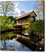 Cilleyville Bridge Acrylic Print