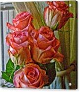 Cindy's Roses Acrylic Print