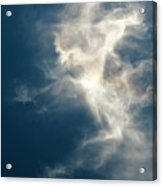 Cirrus Clouds With Nature Patterns  Acrylic Print