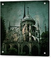 Citadel Acrylic Print by Andrew Paranavitana