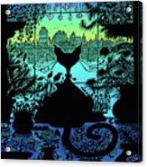 City Kitty Acrylic Print