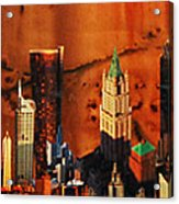 City Life Acrylic Print