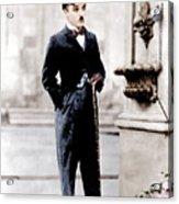 City Lights, Charlie Chaplin, 1931 Acrylic Print by Everett
