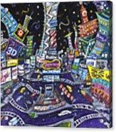 City Of Lights Acrylic Print