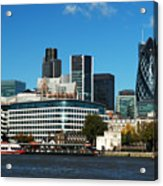 City Of London Skyline Acrylic Print
